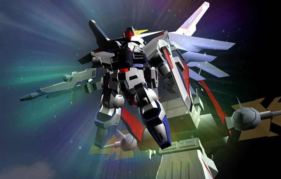 SD Gundam Freedom Soar Wallpaper   SD Gundam Capsule Fighter Online 960x612