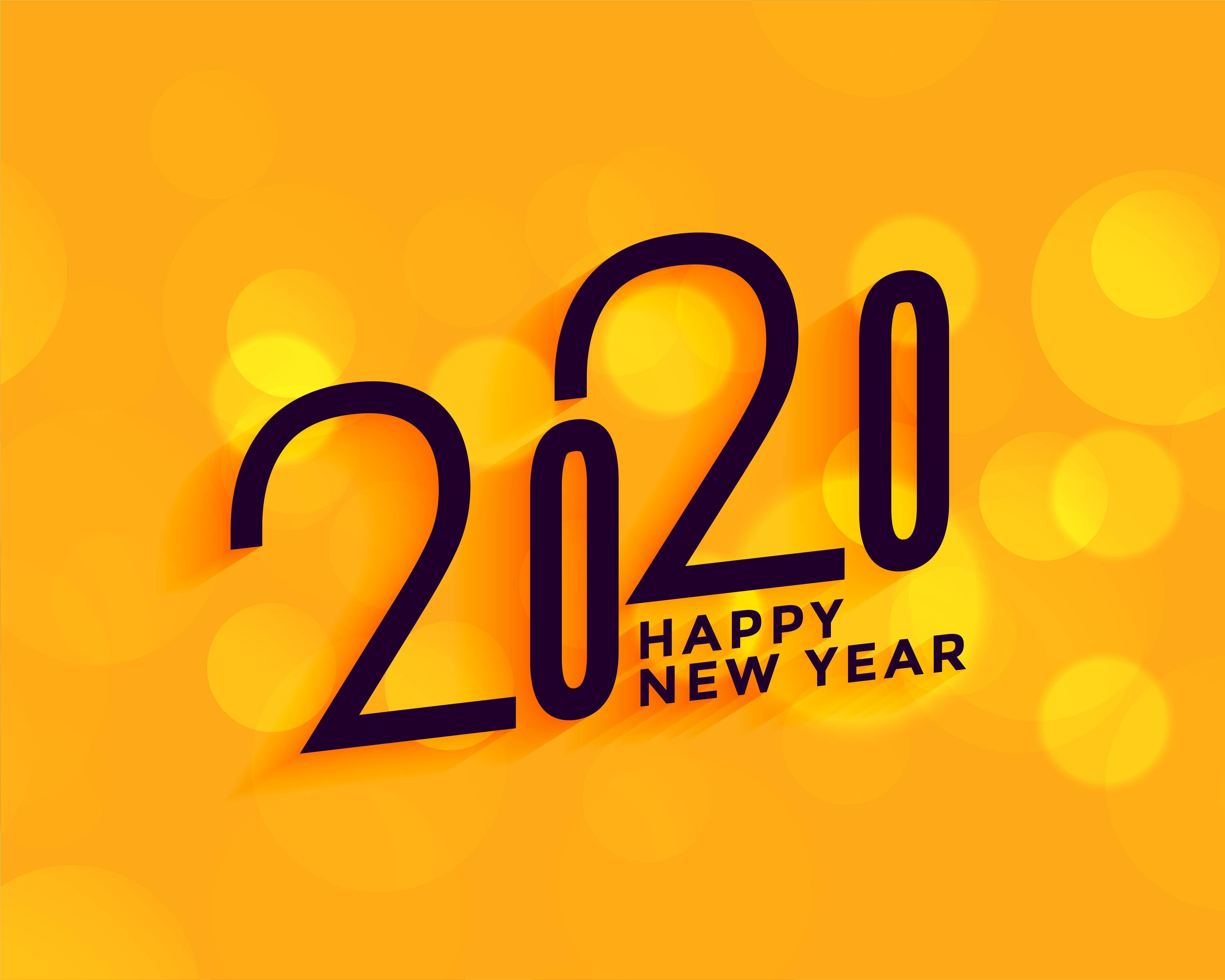 2020 New Year Wallpaper HD Holidays 4K Wallpapers Images Photos 5001x4001