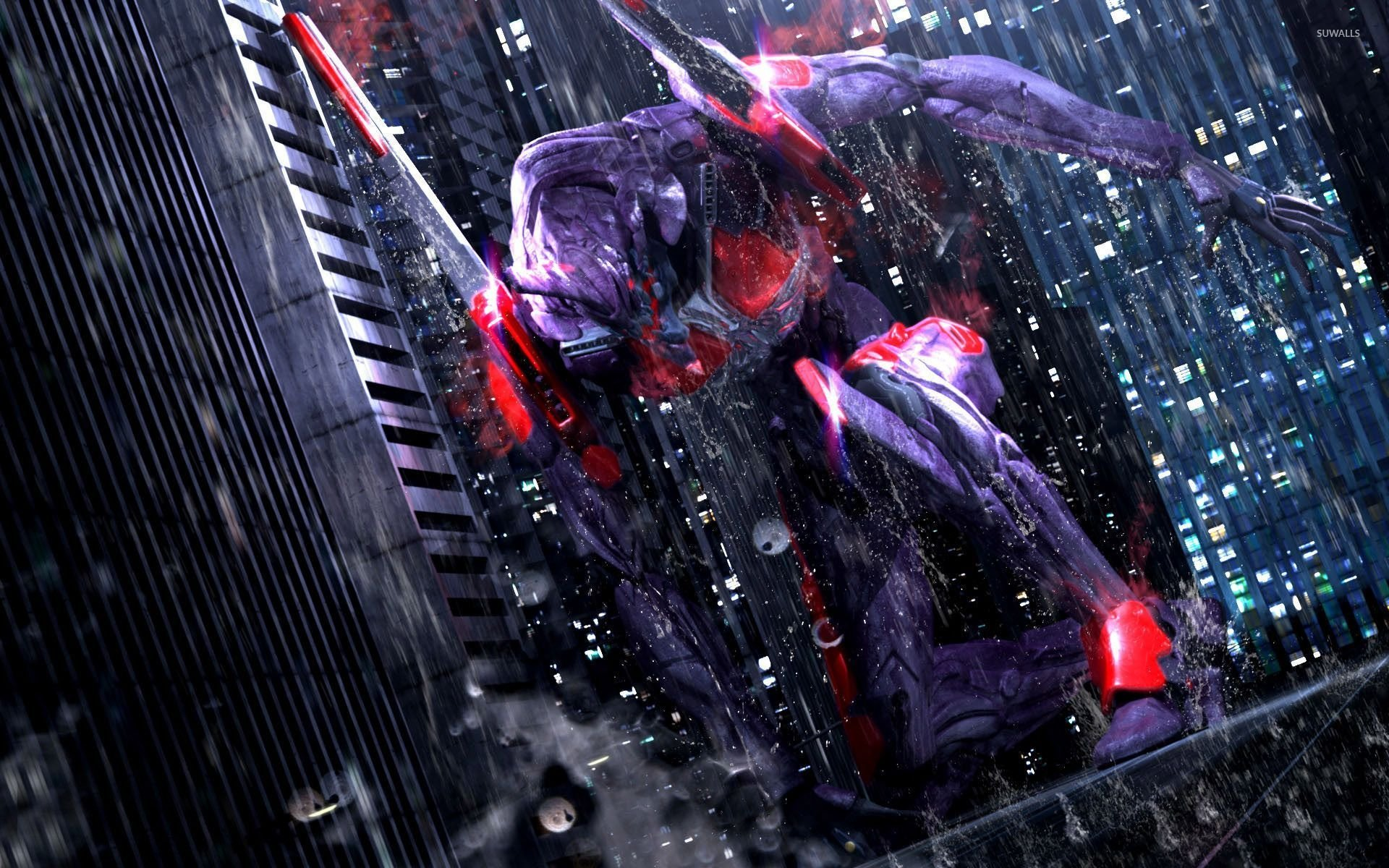 <b>Evangelion</b> Tribute Eva Unit 01 by pierreloyvet on DeviantArt