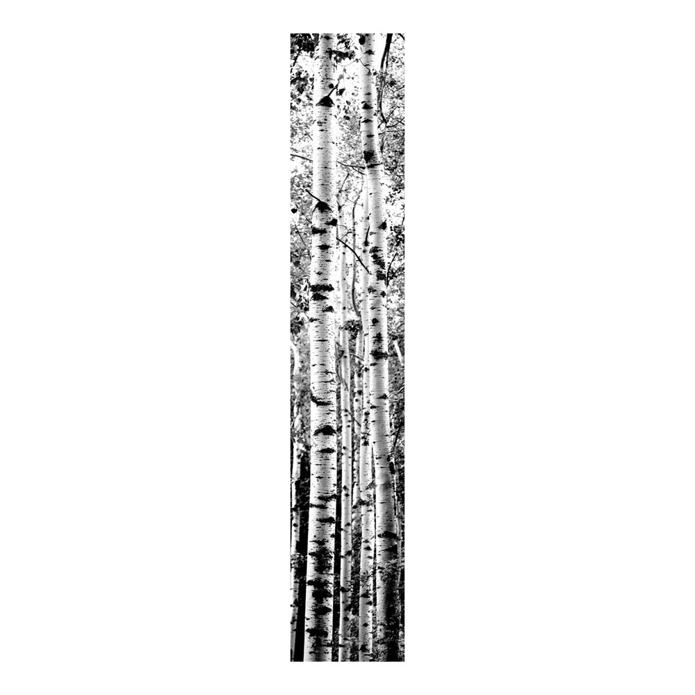 Forest Trees Black and White Prepasted Wallpaper Mural Lowes Canada 1000x1000