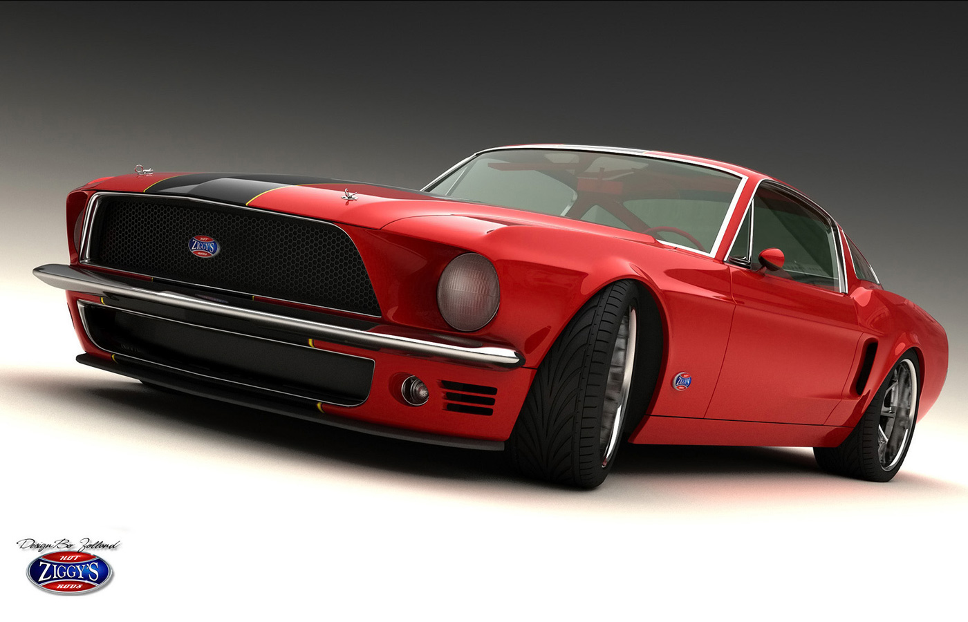 Classic Mustang Fastback wallpaper   Classic Mustang Fastback by 1400x900