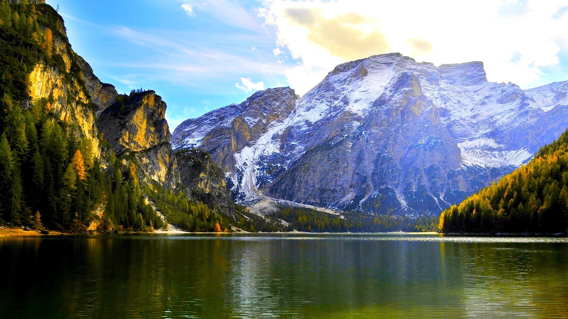 Rocky Mountain Sunset Wallpapers Full HD Bhstormcom 1920x1080