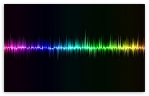 Download Sound Wave wallpaper 510x330