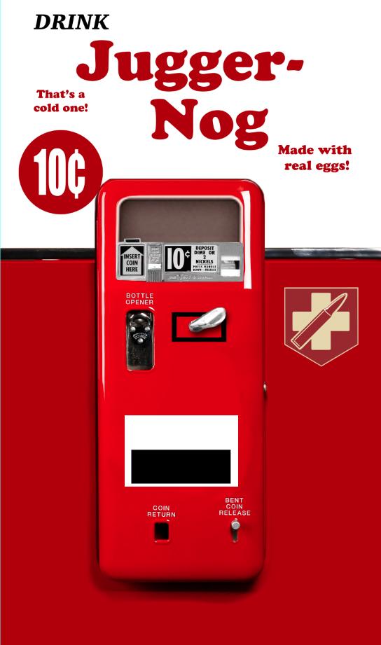 Juggernog Mini Fridge Skin Clean COD Mini fridge Call of duty 544x921