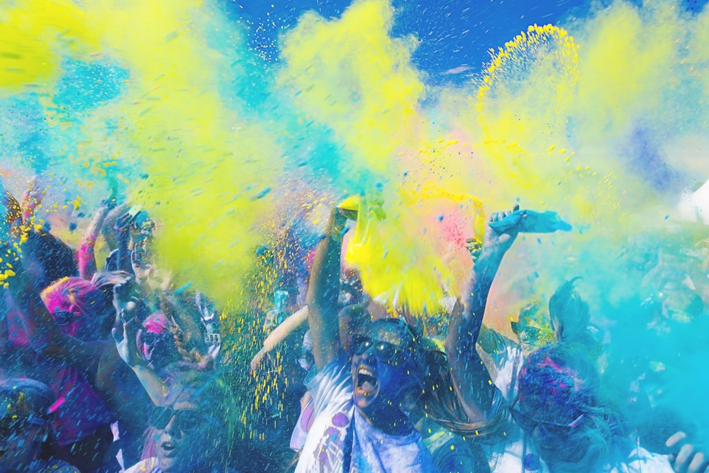 Colour Run Pictures Download Images on Unsplash 1000x667