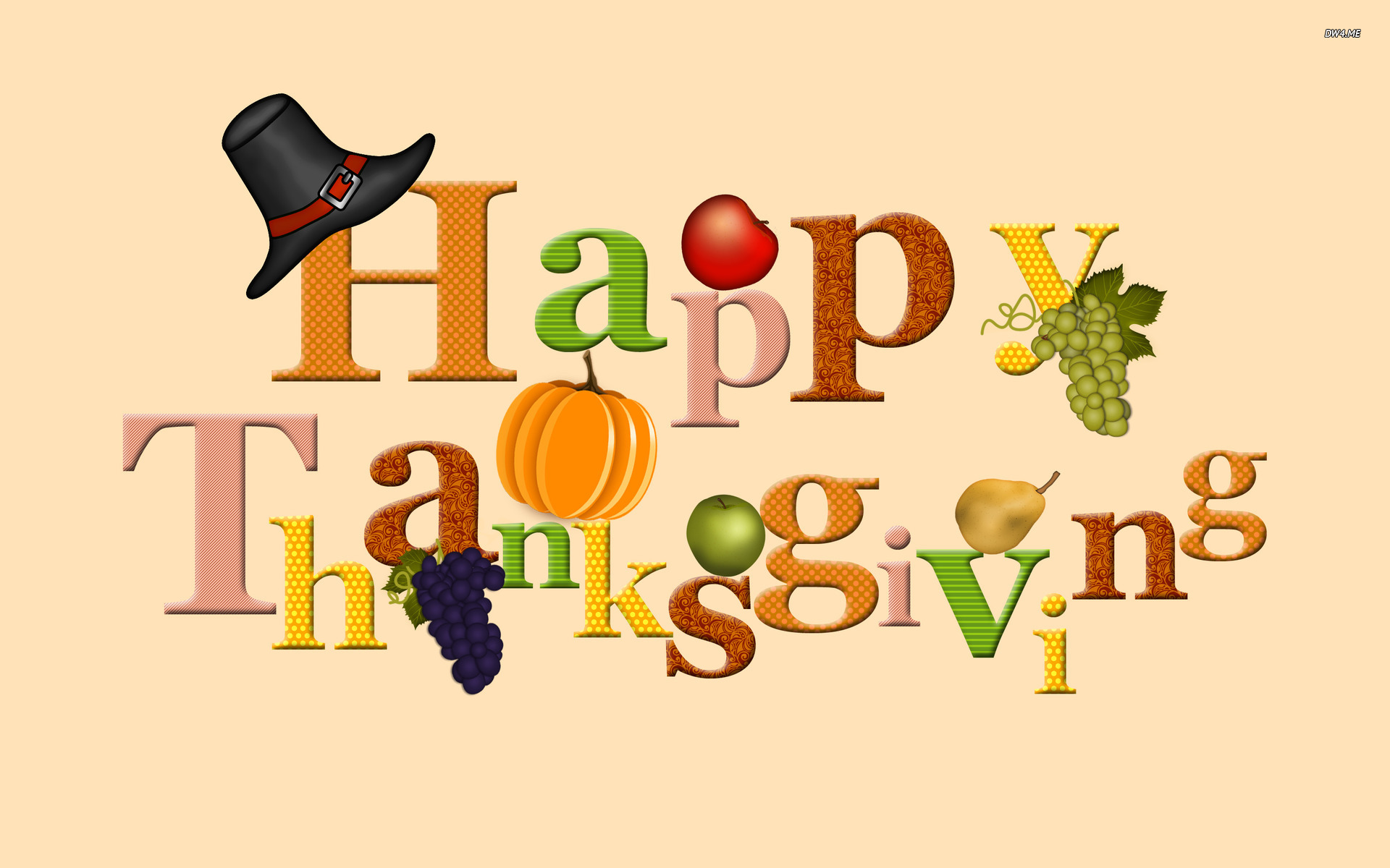Holiday Wallpapers For Desktop   Happy Thanksgiving Computer 1920x1200