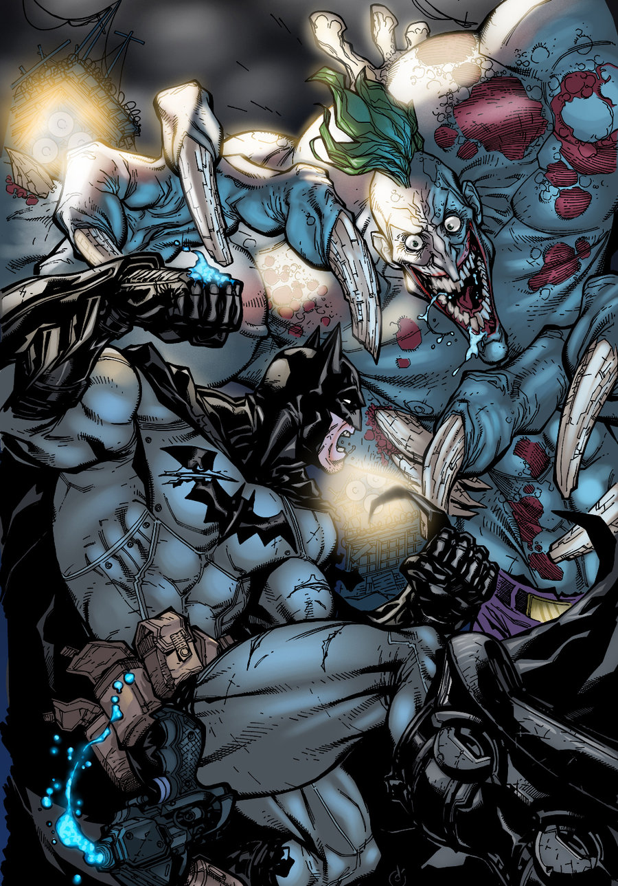 Viewing Gallery For   Batman Vs Joker Wallpaper 900x1289
