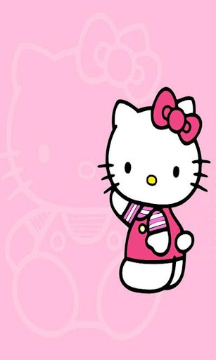 View bigger   Hello Kitty Pink Wallpapers HD for Android screenshot 307x512