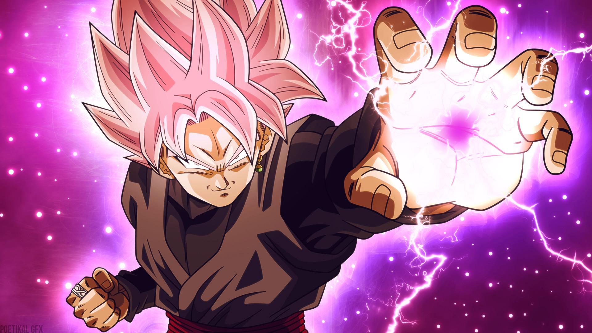 Free Download Goku Black Super Saiyan Rose Dragon Wallpaper 11880