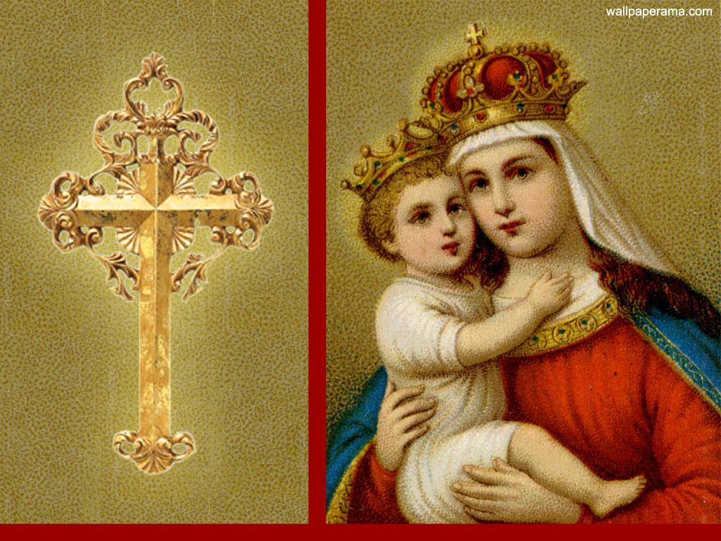 Jesus And Mary Wallpaper Wallpapersafari