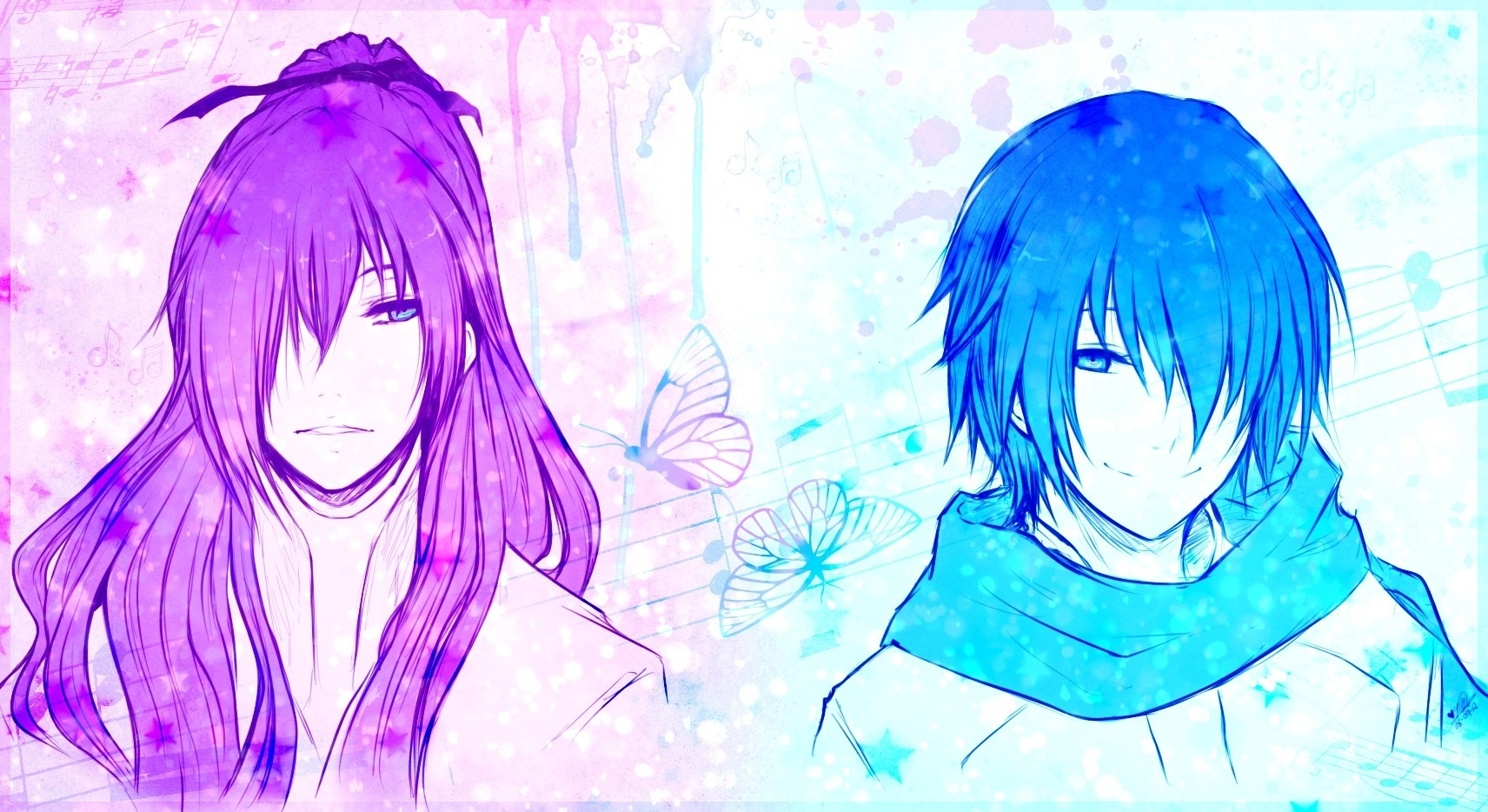 anime boys kamui gakupo 1712x934 wallpaper High Resolution Wallpaper 1712x934