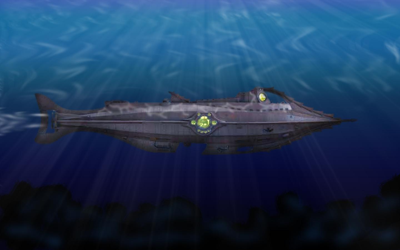 Nautilus 20000 Leagues Under The Sea 1440x900