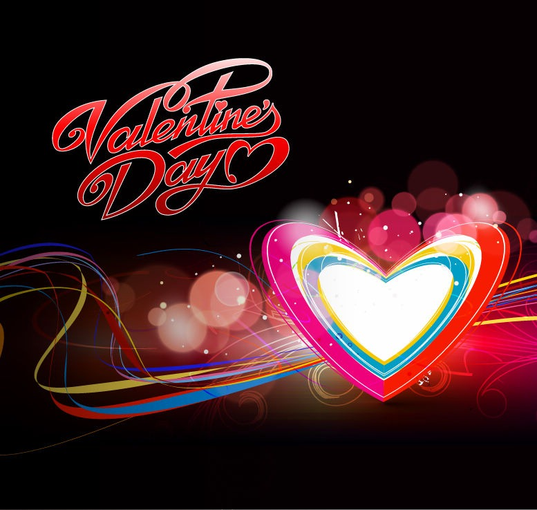 Colorful Heart Backgrounds