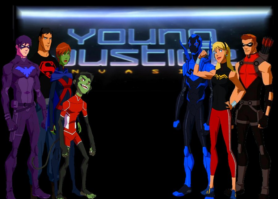 Young Justice Invasion by Butters101 900x643