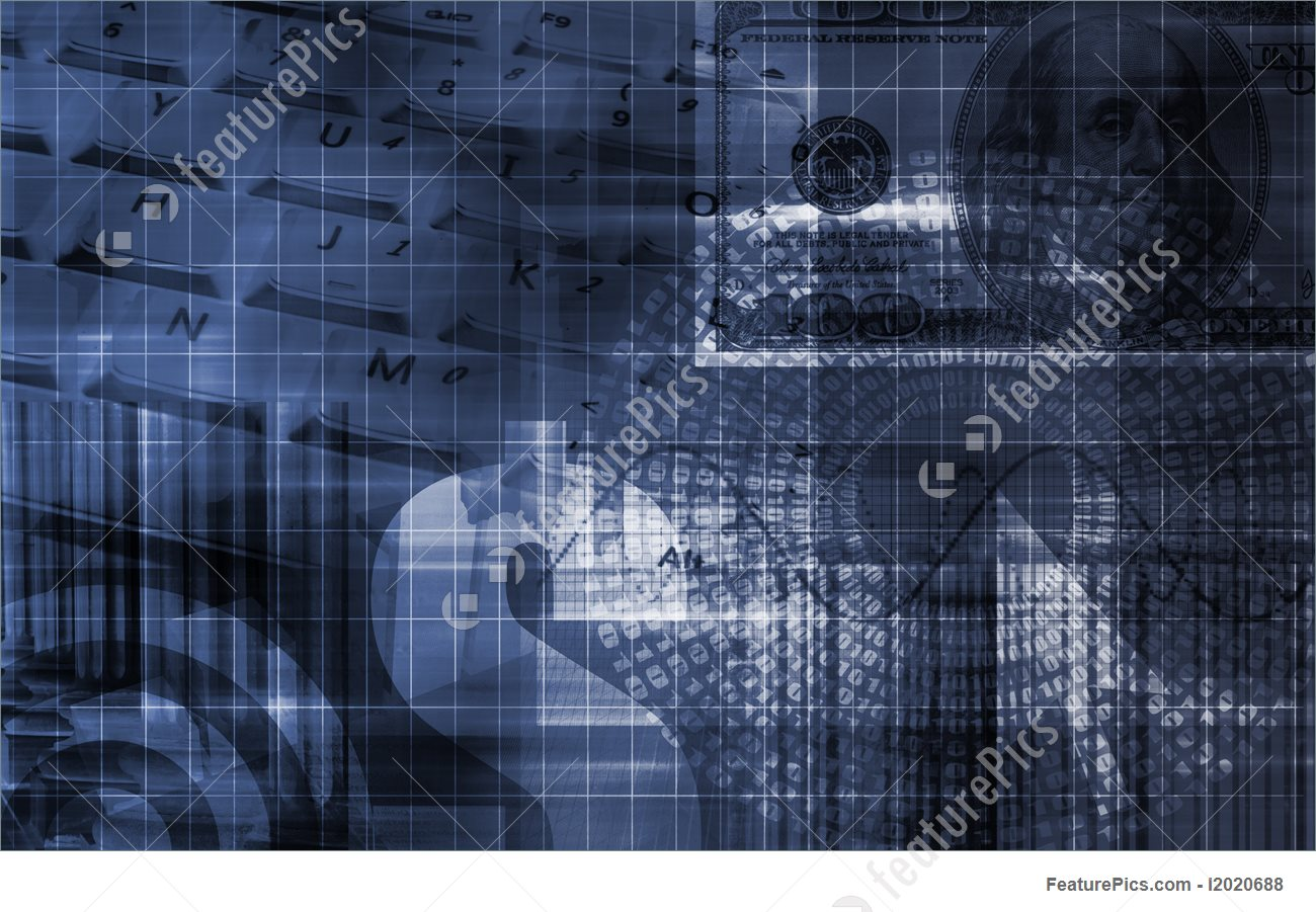 Finance Spreadsheet Tech Graph Illustration 1300x901