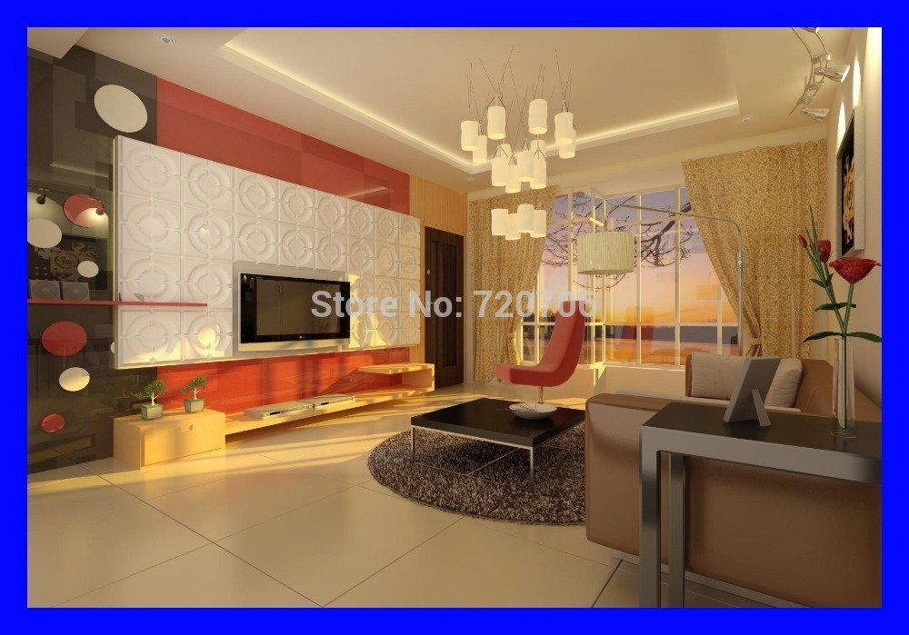 Crazy price decorative 3d wallpaper 3d wall panel board wall covering 1000x699