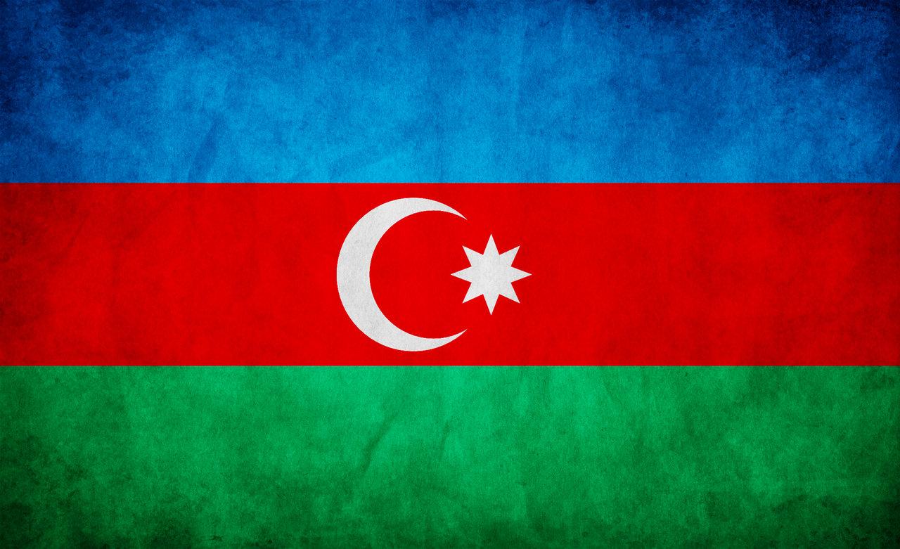 Azerbaijan Grunge Flag wallpaper 2018 in Flags 1280x781