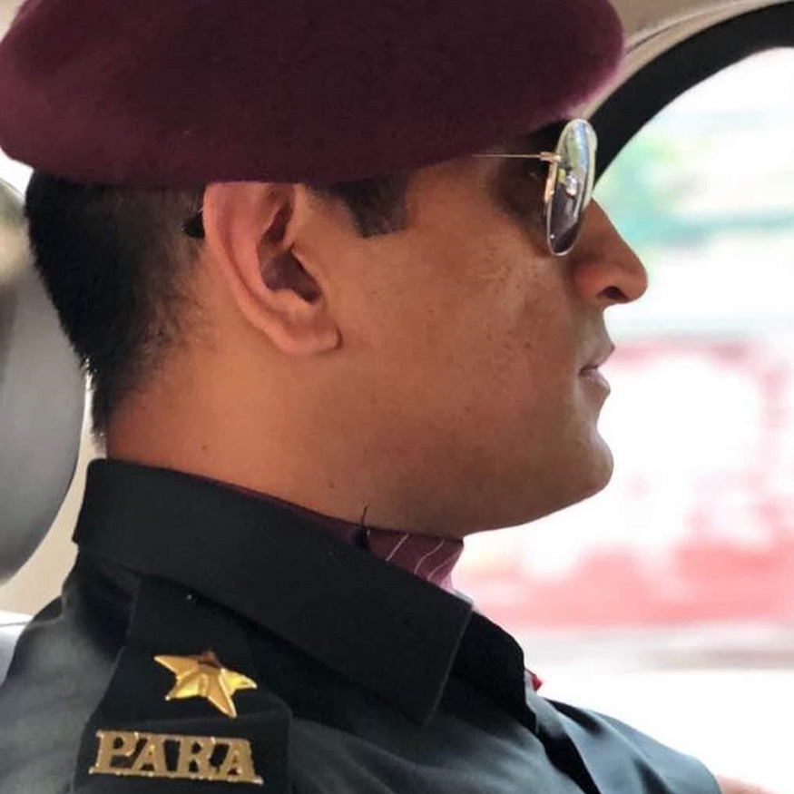 MS Dhoni and His Love Respect for the Indian Armed Forces 875x875