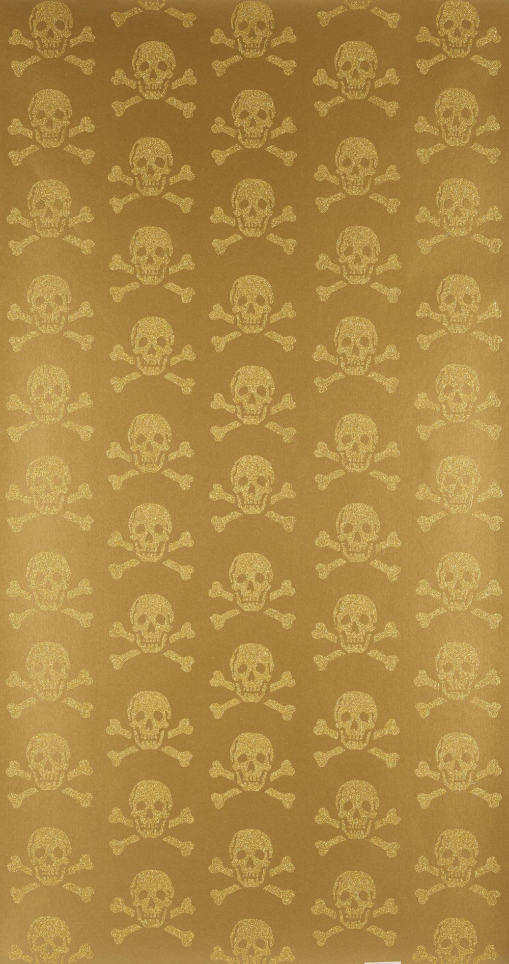skulls Beware the Moon Hypnotic Wallpaper Made in England 1000x1892