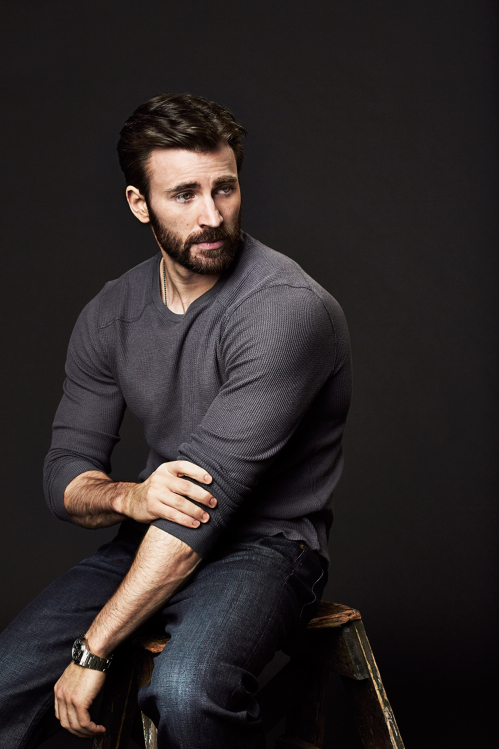 Captain America Chris Evans Looking Super In Variety 499x749