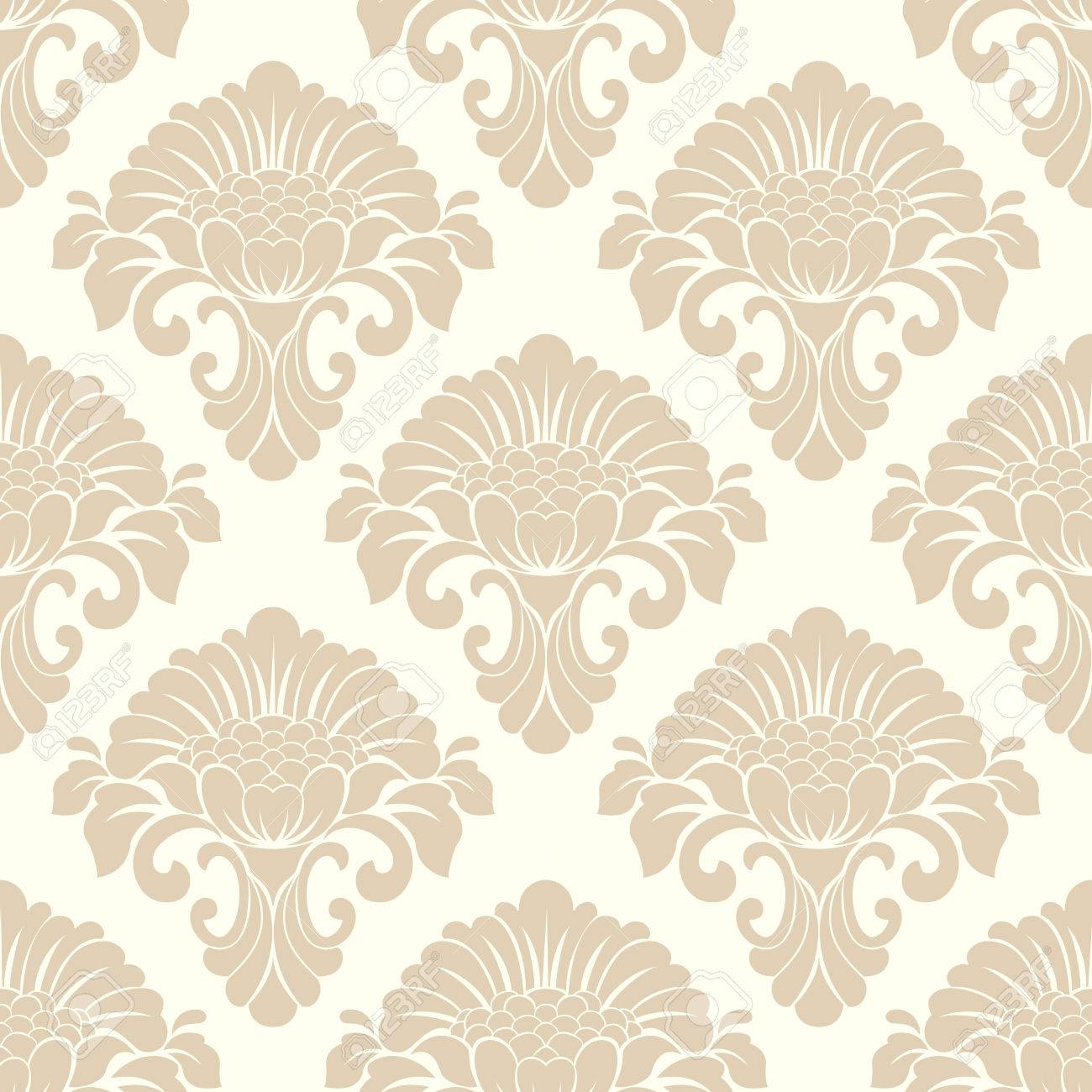 Vector Damask Seamless Pattern Background Classical Luxury Old 1300x1300