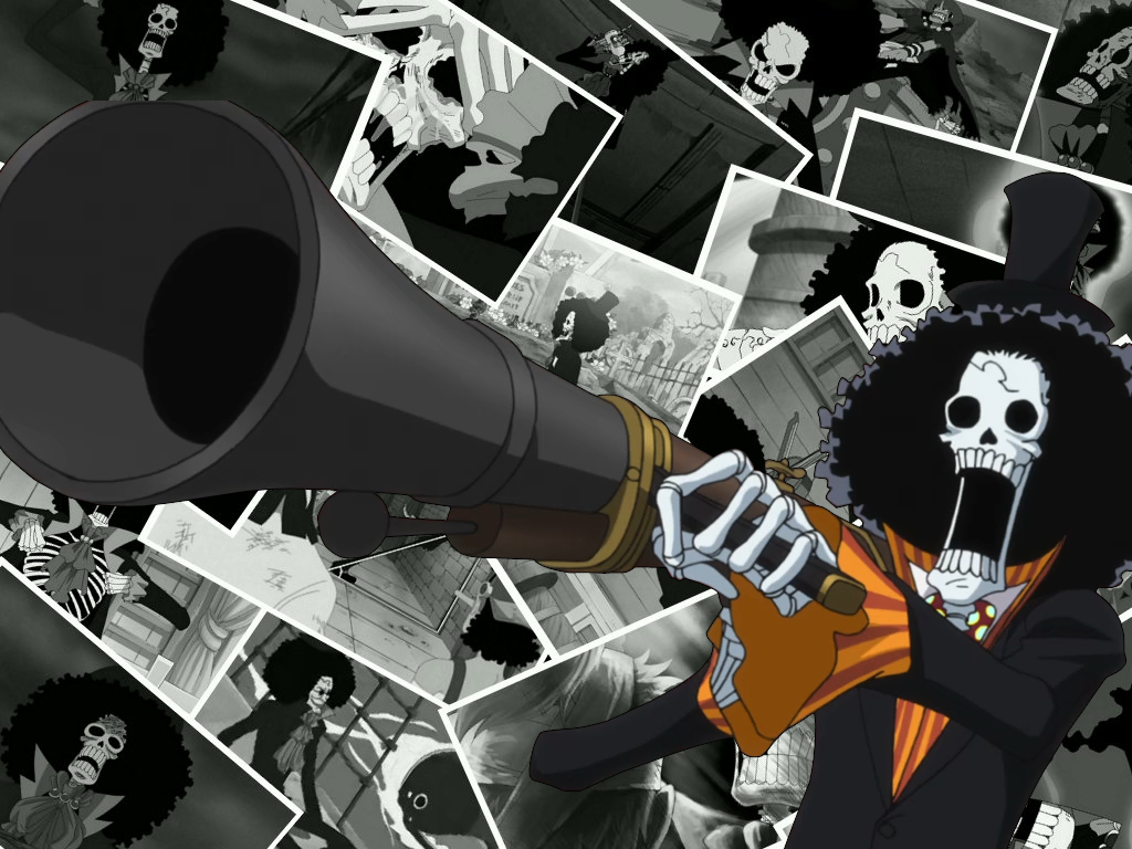 1024x768px Brook One Piece Wallpaper Wallpapersafari