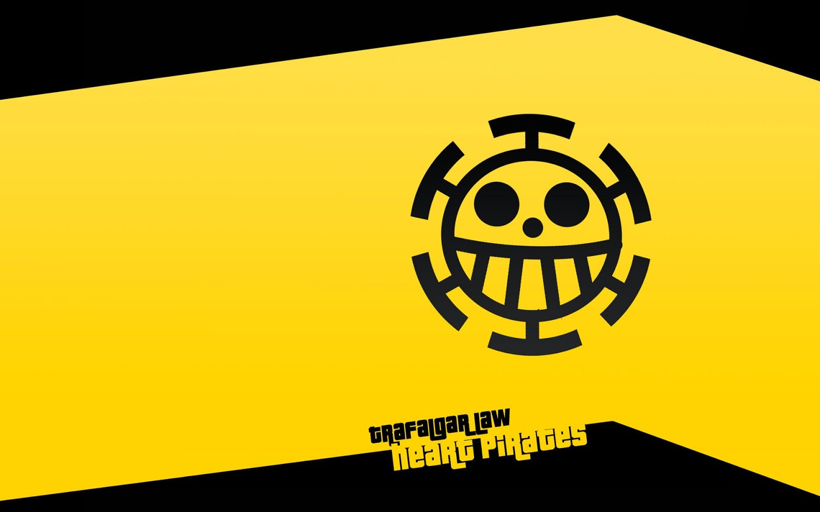 Heart Pirates Logo Emblem One Piece Anime Hd Wallpaper 1920x1200 1600x1000