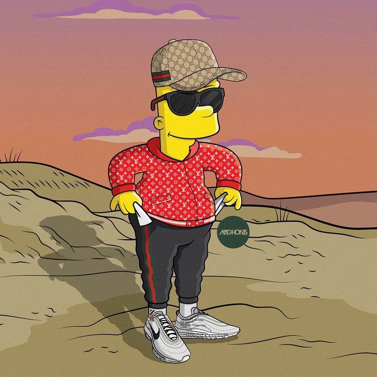 Pin by Nick on Lifestyle in 2019 Simpson wallpaper iphone Money 750x750
