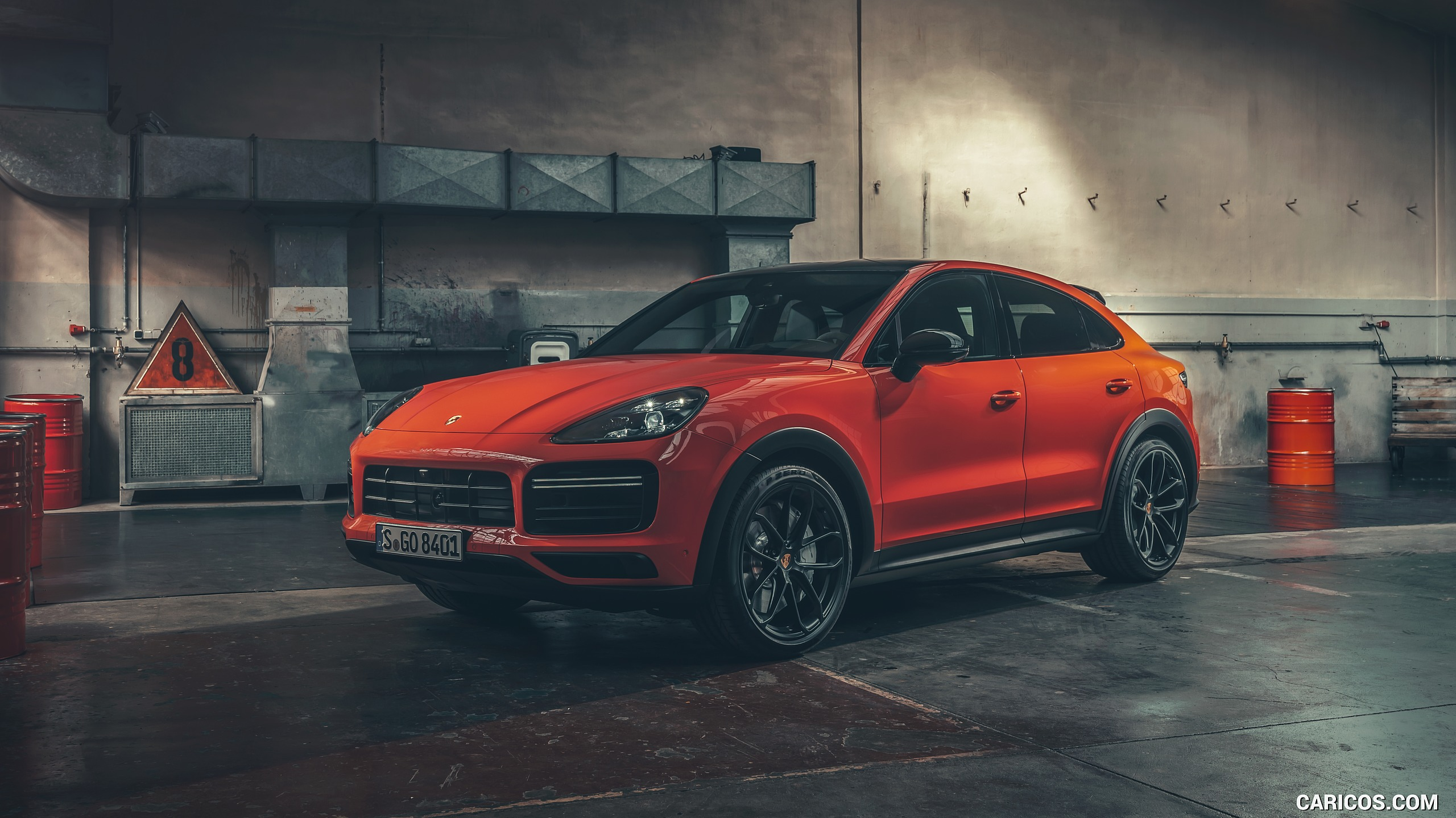 2020 Porsche Cayenne Coupe   Front Three Quarter HD Wallpaper 18 2560x1440