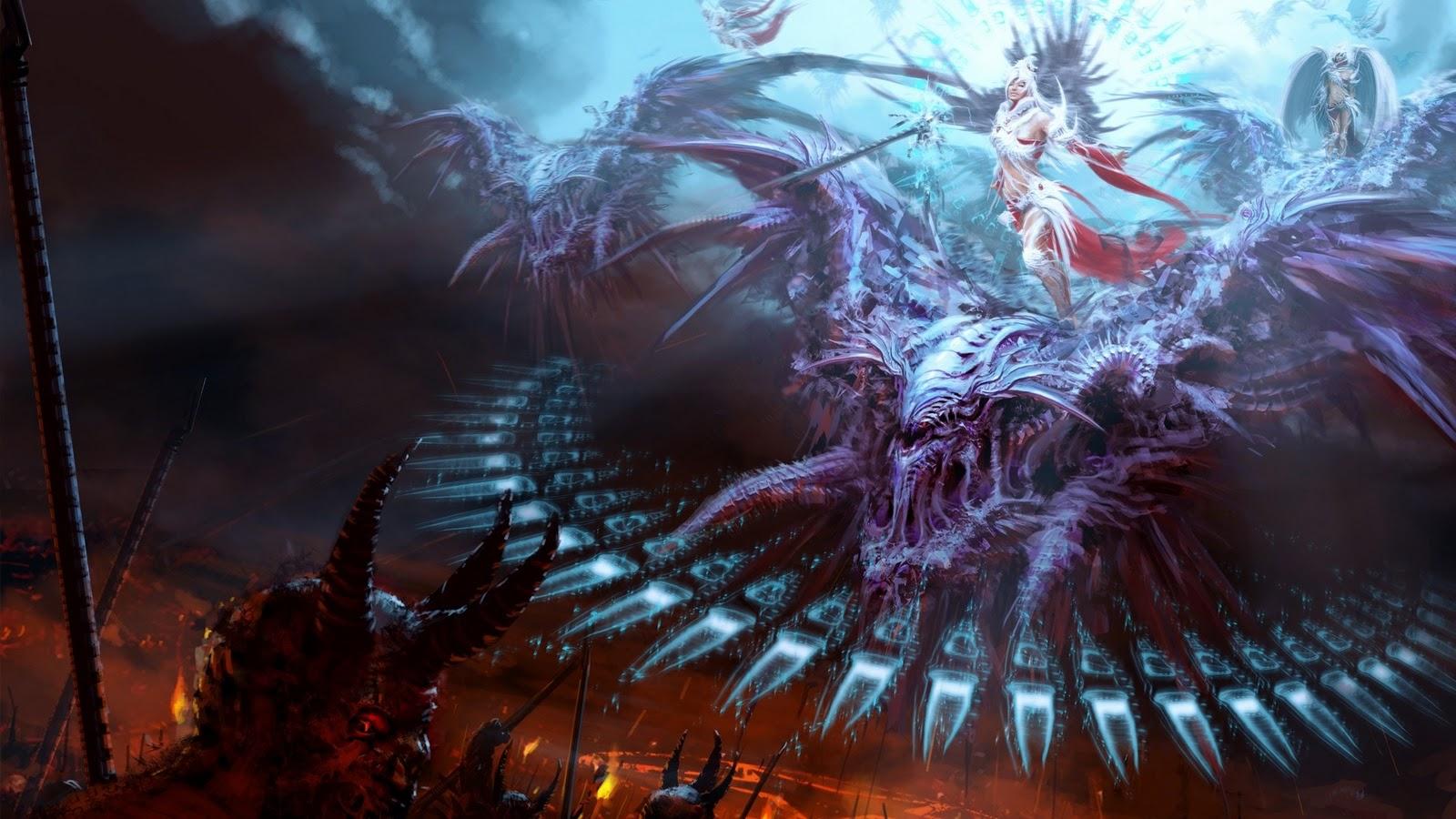 Wallpaper Hd Angels Demons Download Wallpaper DaWallpaperz 1600x900