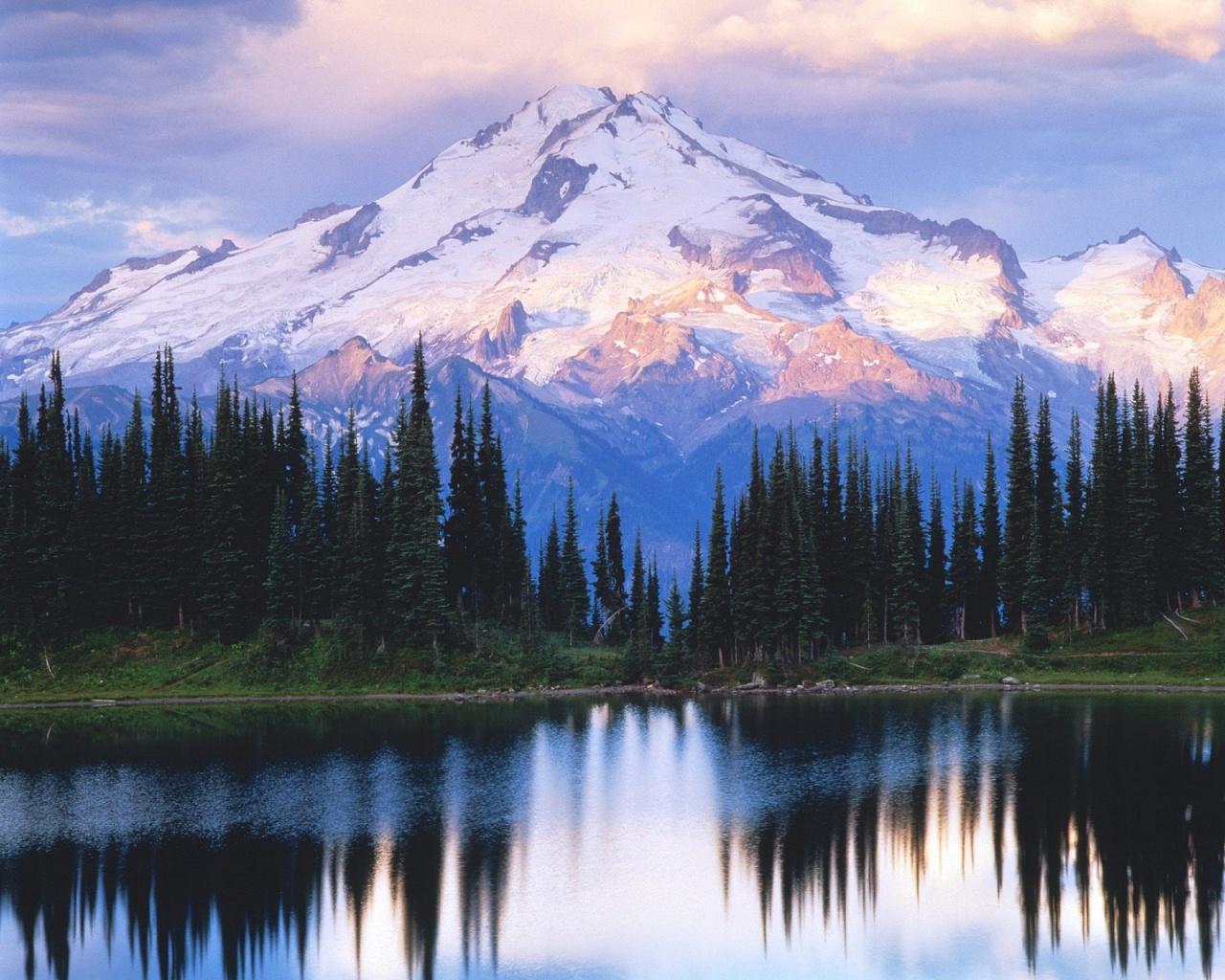 Nueva foto de montaas Fondos de paisajes 1280x1024