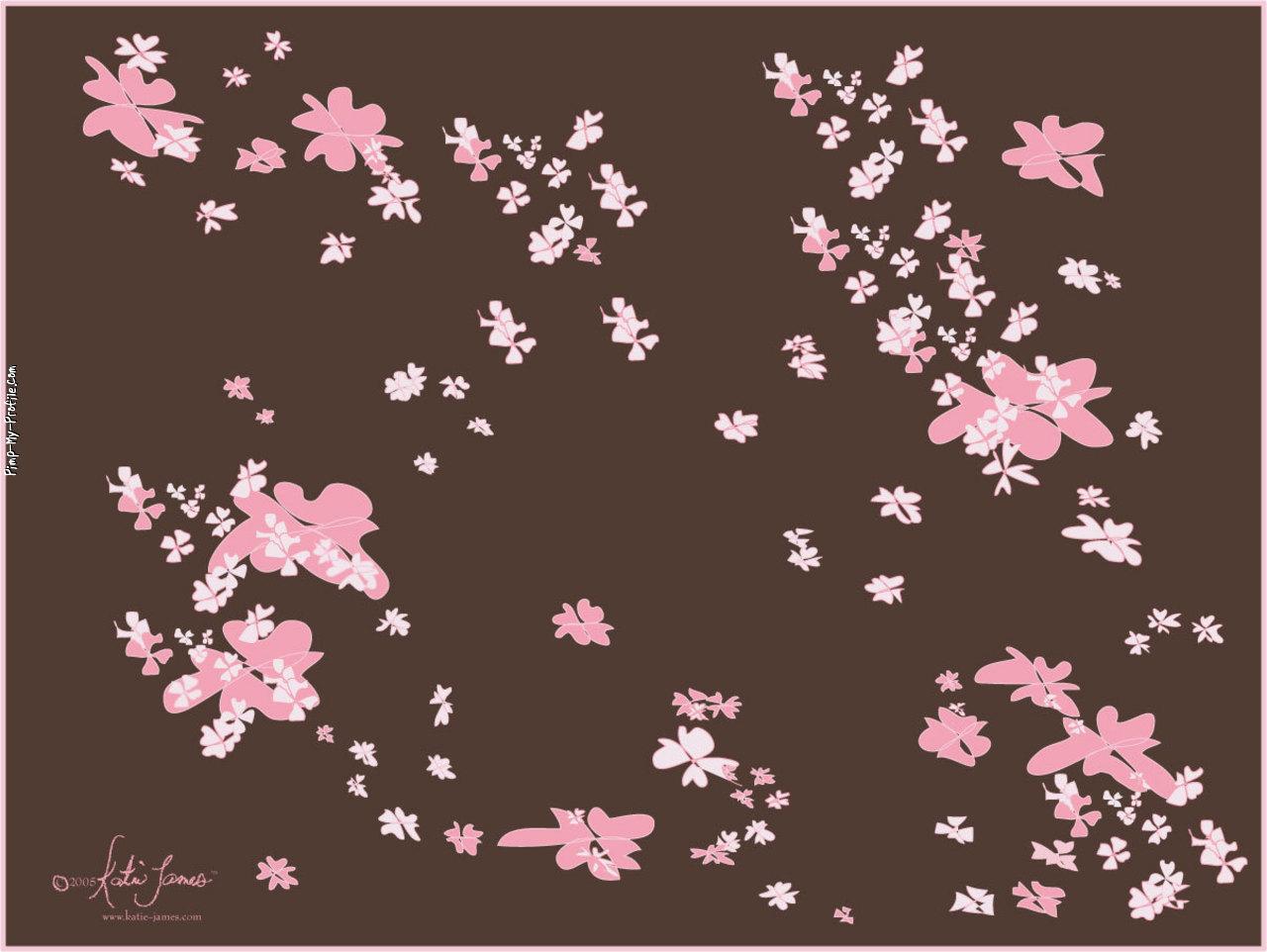 Pink And Brown Wallpaper Wallpapersafari