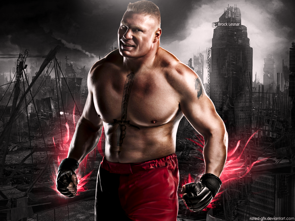 Brock Lesnar Logo Here Comes The Pain Hd wallpapers of brock lesnar 1024x768
