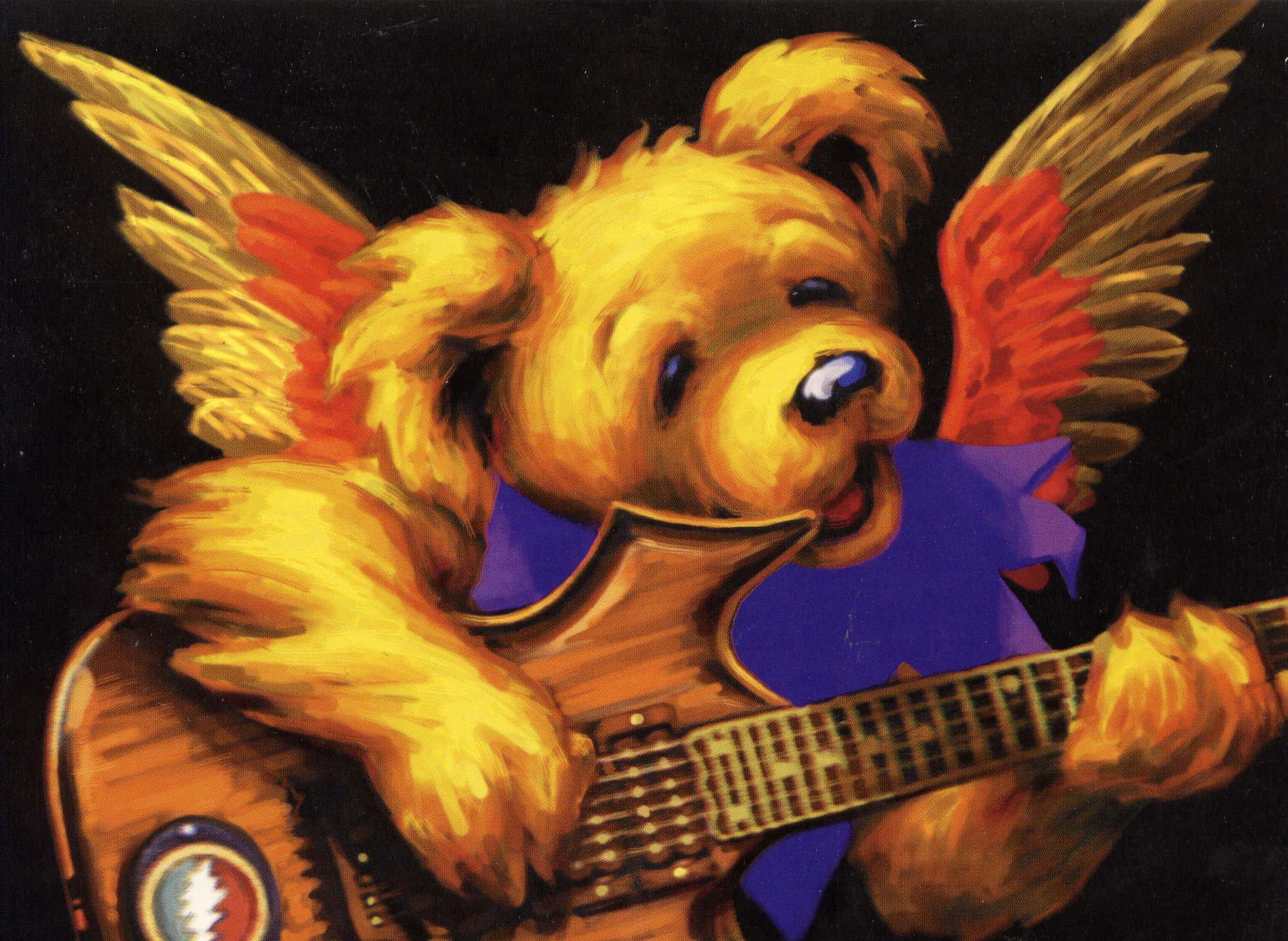 Grateful Dead Bears Wallpaper for kids