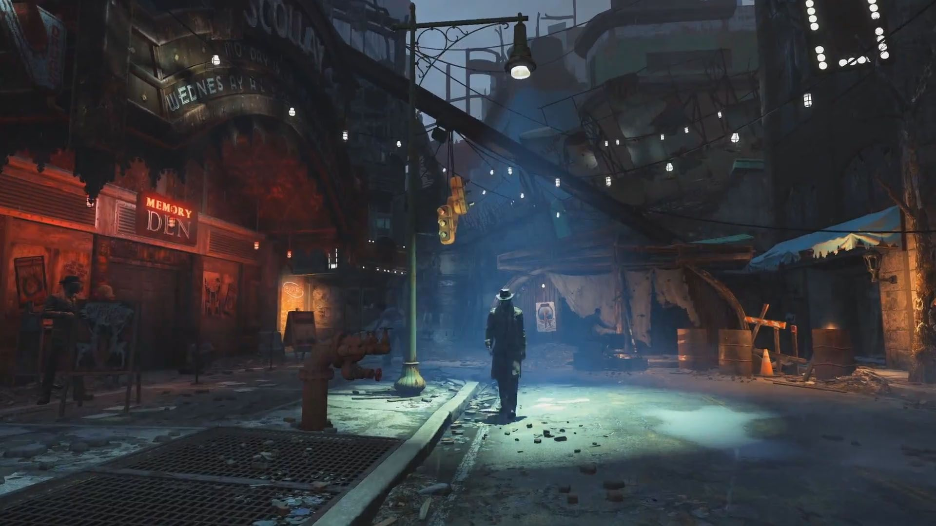 fallout 4 diamond city   Google Search Lab Fallout 4 1920x1080