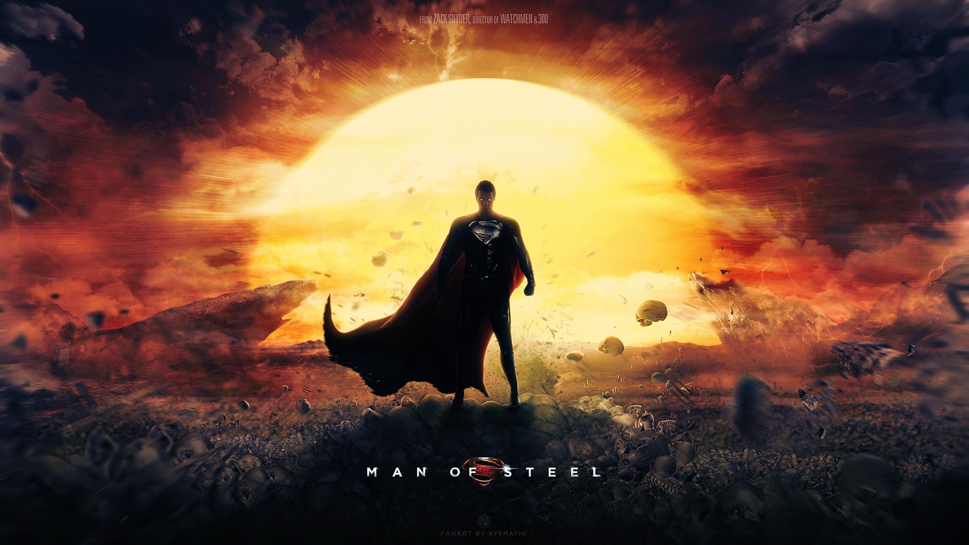 Man of Steel   Dreamstate wallpaper by visuasys 1920x1080