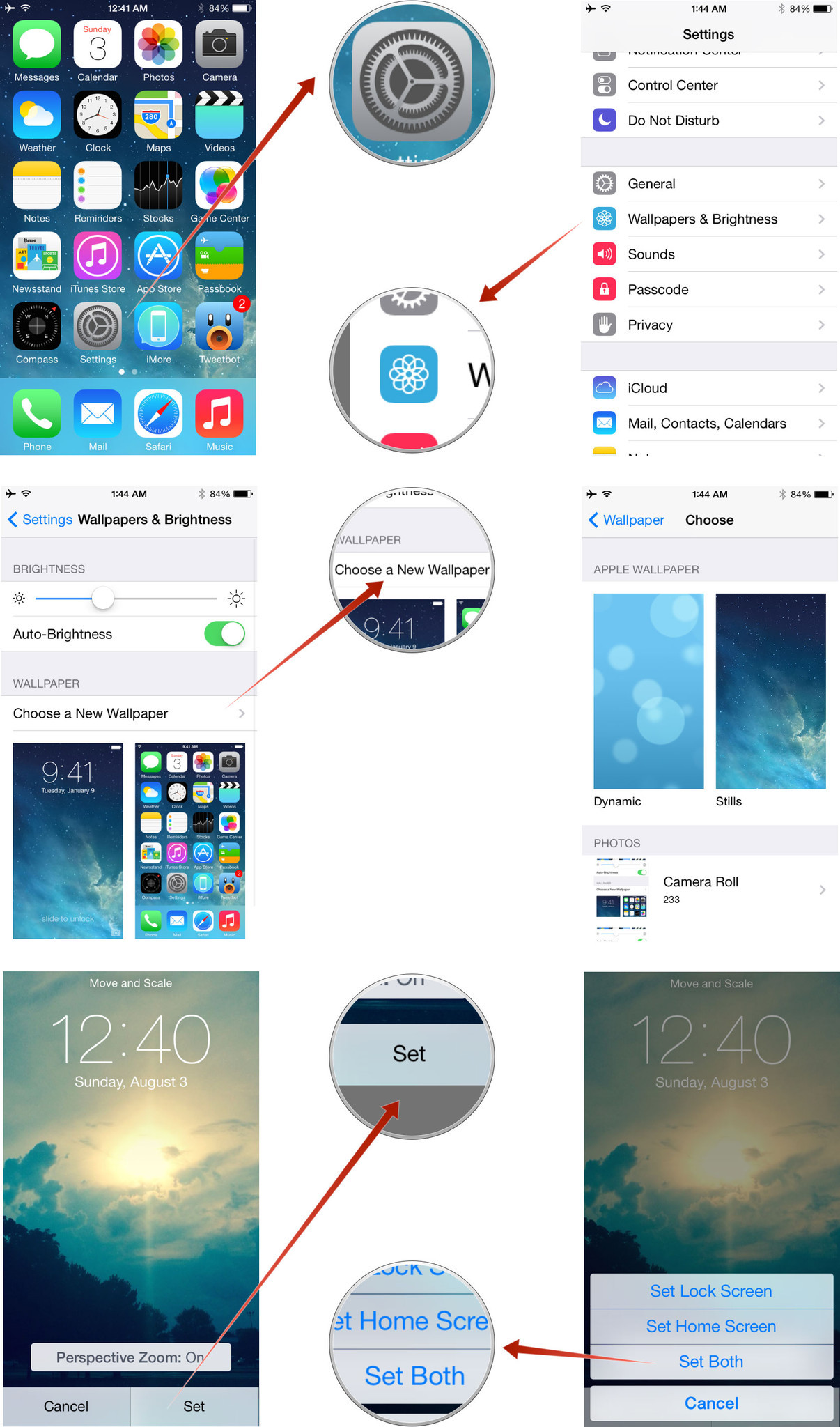 Free download How to change the wallpaper to customize your iPhone ...