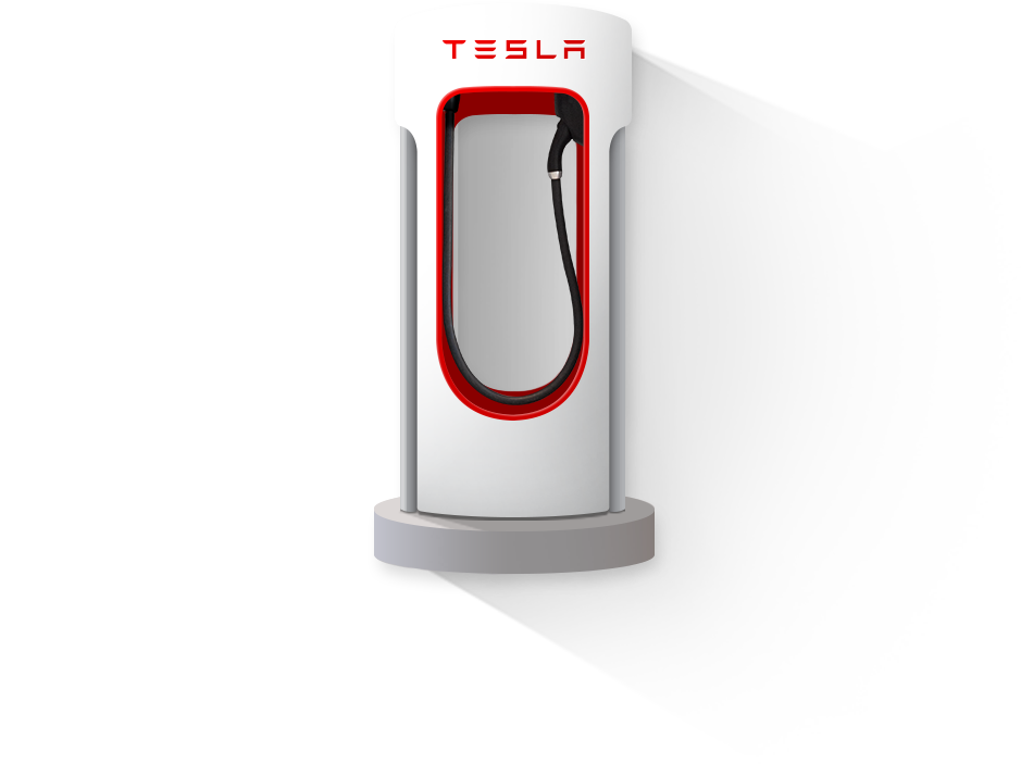 Supercharger Tesla Electric cars Plugs Charger 939x703
