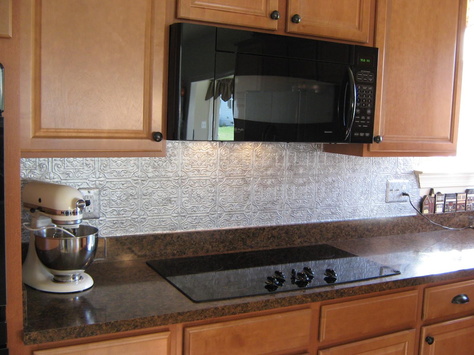 Textured Wallpaper For Kitchen Backsplash