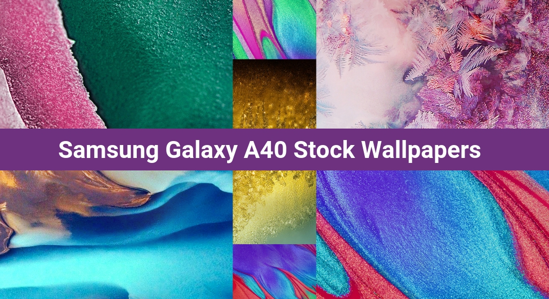 Download Samsung Galaxy A40 Stock Wallpapers in FHD 1100x600
