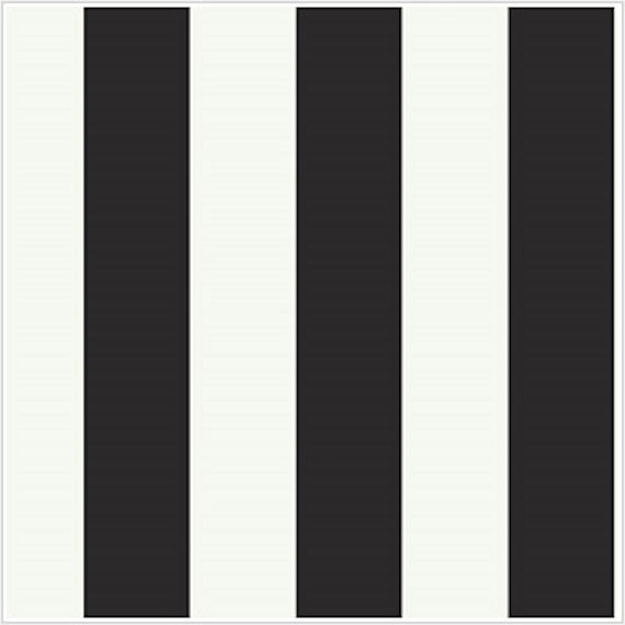 Silk Stripe Black and White Wallpaper   Wall Sticker Outlet 570x570