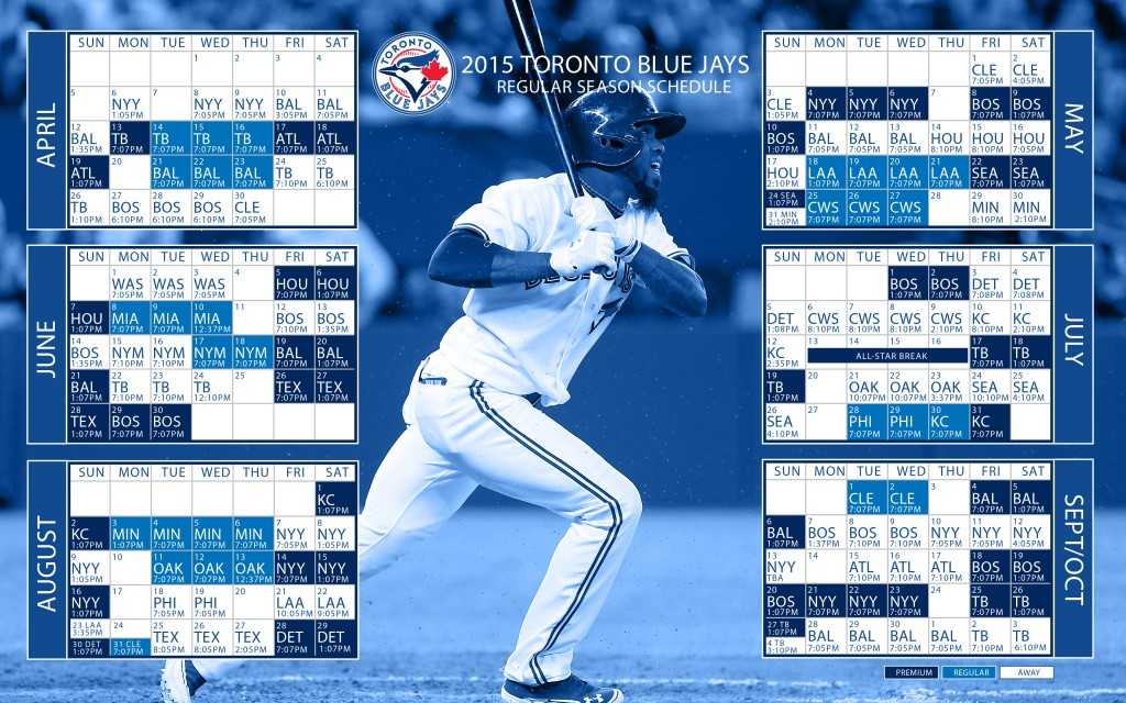 Jays game again with this Blue Jays 2015 MLB season schedule desktop 1024x640
