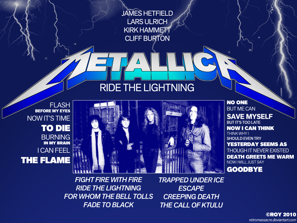 Pin Ride The Lightning Photos Wallpapers 1024x768