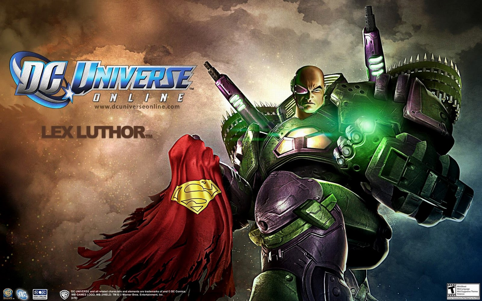 DC Universe Online Logo Characters HD Wallpapers HD 1600x1000