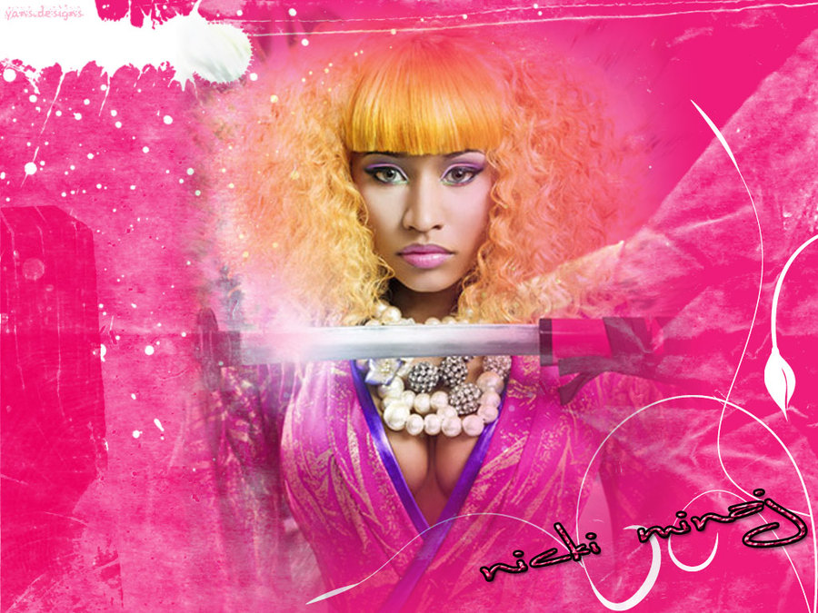Nicki Minaj HD 8 • Rap Wallpapers