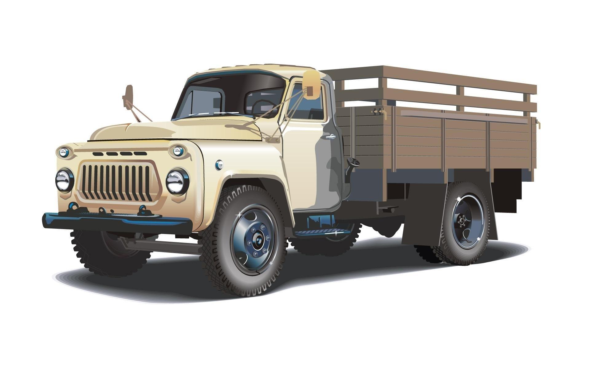 Wallpapers Trucks GAZ 53 Cars 1920x1200