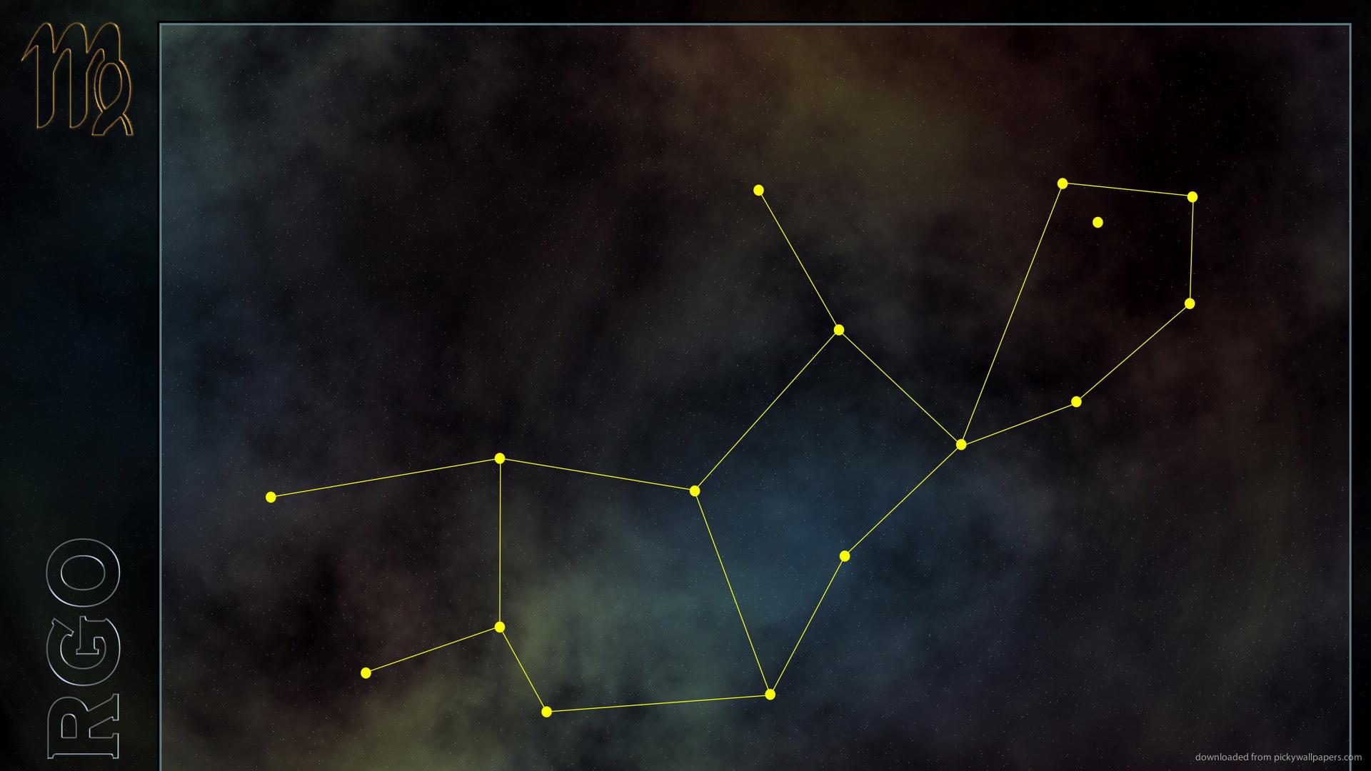 Widescreen Virgo Constellation Wallpaper 1920x1080