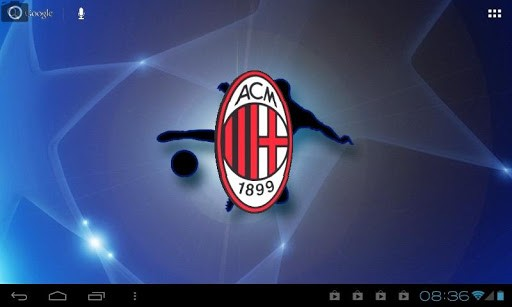 View bigger   AC Milan 3D Live Wallpaper for Android screenshot 512x307