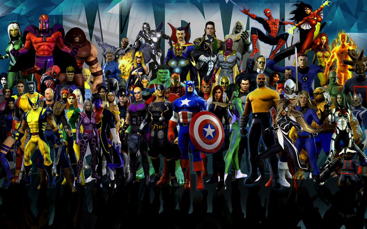 Free download HD Marvel Heroes 4K For Desktop Wallpapers ...