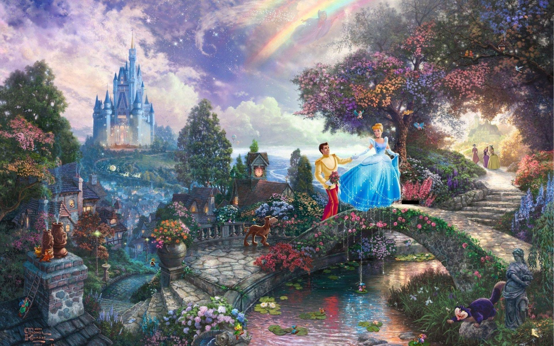 Thomas Kinkade Computer Wallpapers - Wallpaper Cave